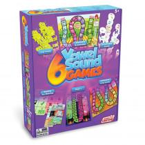 6 Vowel Sound Games - JRL411 | Junior Learning | Language Arts
