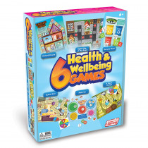 6 Health & Wellbeing Games - JRL414 | Junior Learning | Social Studies