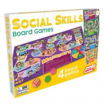 4 Social Skills Board Games - JRL426 | Junior Learning | Games