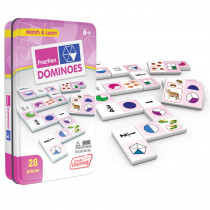 JRL485 - Fractions Dominoes in Dominoes
