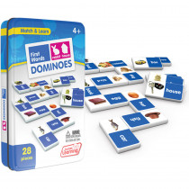 JRL491 - First Words Dominoes in Dominoes