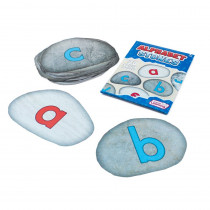 Alphabet Stones Sensory Floor Stickers, Set of 26 - JRL625 | Junior Learning | Language Arts