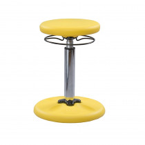 KD-2116 - Yellow Grow With Me Wobble Chair Adjustable in Chairs