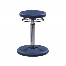 KD-2117 - Dark Blue Grow With Me Wobble Chair Adjustable in Chairs