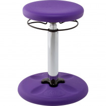 KD-2599 - Purple Grow With Me Wobble Chair Adjustable in Chairs