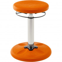 KD-2600 - Kids Adjustable Wobble Chair Orange 15.5In-21.5In in Chairs