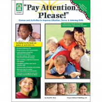 KE-804079 - Pay Attention Please Book Parent Teacher Resource in Auditory/visual Stimulation