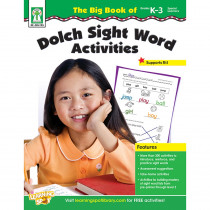 KE-804105 - The Big Book Of Dolch Sight Word Activities in Sight Words