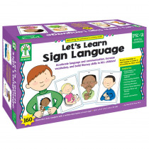 KE-845046 - Sign Language Wt Cards in Sign Language