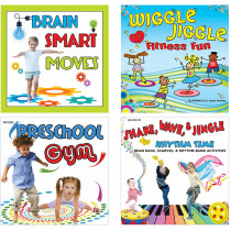 KIM08CD - Fitness Little Learners Cd St in Cds