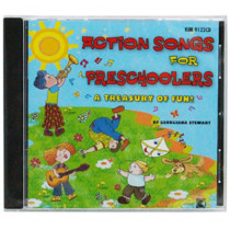 KIM9122CD - Action Songs For Preschoolers Cd in Cds