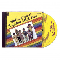 KIM9128CD - Multicultural Rhythm Stick Fun Cd Ages 3-7 in Cds
