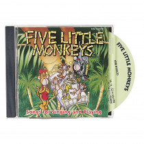 KIM9155CD - Five Little Monkeys Cd in Cds