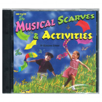 KIM9167CD - Musical Scarves & Activities Cd Ages 3-8 in Cds