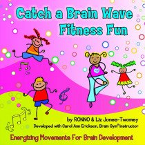 KIM9191CD - Catch A Brain Wave Fitness Fun Cd in Cds