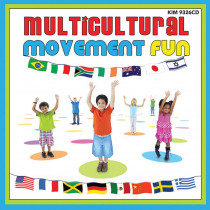 KIM9326CD - Multicultural Movement Fun Cd in Cds