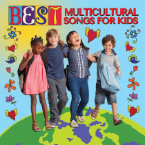 KIM9328CD - Best Multicultural Songs For Kids Cd in Cds