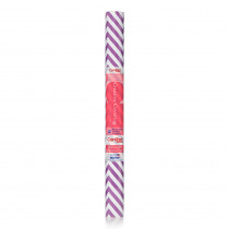 KIT20FC9AL02 - Contact Adhesive Rl Purple Chevron 18In X 20Ft in Contact Paper
