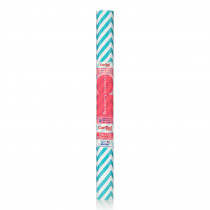 KIT20FC9AL12 - Contact Adhesive Roll Aqua Chevron 18In X 20Ft in Contact Paper