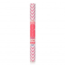 KIT20FC9AP12 - Contact Adhesive Roll Pink Chevron 18In X 20Ft in Contact Paper