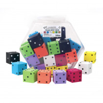 KOP10946 - 2In Foam Dot Dice 36/Tub in Dice