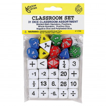KOP11702 - Classroom Dice Set in Dice