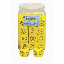 KOP18299 - Emotions Dice 36/Tub in Novelty