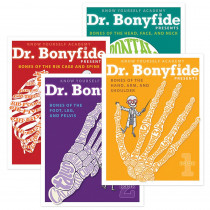 KWYDRB4BB - 206 Bones Of The Human Body 4 Book Set Dr Bonyfide in Human Anatomy