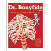 KWYDRBBK3EA1 - Bones Of Rib Cage And Spine Dr Bonyfide Activity Workbook in Activity Books & Kits