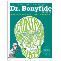 KWYDRBBK4EA1 - Bones Of Head Face And Skull Dr Bonyfide Activity Workbook in Activity Books & Kits