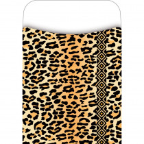 LAS1220L - Pick-A-Pocket Library Pockets Leopard in Library Cards