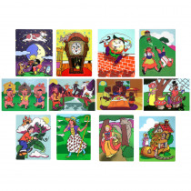 LCI1264 - Fairy Tales And Nursery Rhymes Puzzles in Puzzles