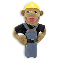 LCI2555 - Construction Worker Puppet in Puppets & Puppet Theaters