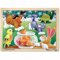 LCI2932 - Playful Pets Jigsaw in Wooden Puzzles