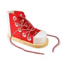 LCI3018 - Wood Lacing Sneaker in Lacing