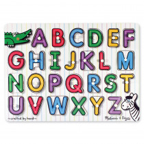 LCI3272 - See-Inside Alphabet Peg Puzzle in Knob Puzzles