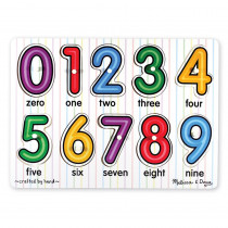 LCI3273 - See-Inside Numbers Peg Puzzle in Knob Puzzles
