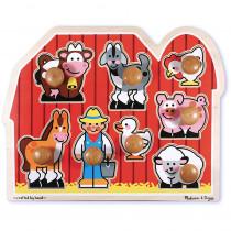 LCI3391 - Large Farm Jumbo Knob Puzzle in Knob Puzzles