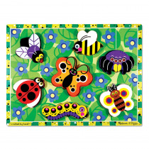 LCI3729 - Insects Chunky Puzzle in Wooden Puzzles