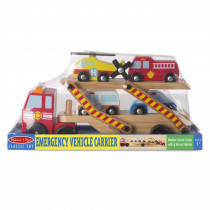 Emergency Vehicle Carrier - LCI4610 | Melissa & Doug | Vehicles