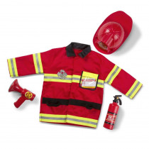 LCI4834 - Role Play Fire Chief Costume Set in Role Play