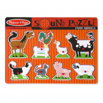 LCI726 - Farm Animals Sound Puzzle in Puzzles