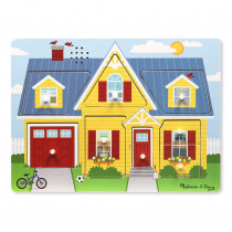 LCI734 - Around The House Sound Puzzle in Knob Puzzles