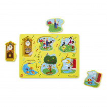 LCI735 - Nursery Rhymes 1 Sound Puzzle Sing Along in Knob Puzzles