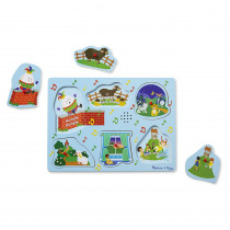 LCI737 - Nursery Rhymes 2 Sound Puzzle Sing Along in Knob Puzzles