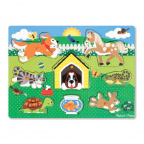 LCI9053 - Pets Peg Puzzle in Knob Puzzles