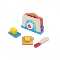 LCI9344 - Bread & Butter Toast Set in Play Food