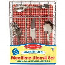 LCI9347 - Lets Play House Mealtime Utensil Set in Homemaking