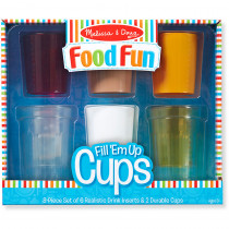 LCI9542 - Fill Em Up Cups Growing in Play Food