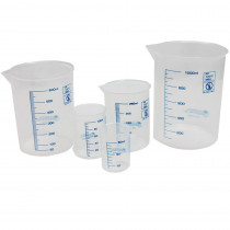 LER0306 - Graduated Beakers 50/100/250/600Ml & 1 Liter in Lab Equipment